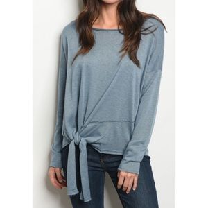 Tops - Just Arrived Blue Oversized Top